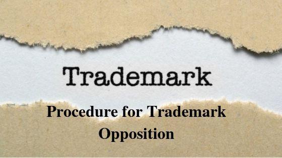 Procedure for Trademark Opposition