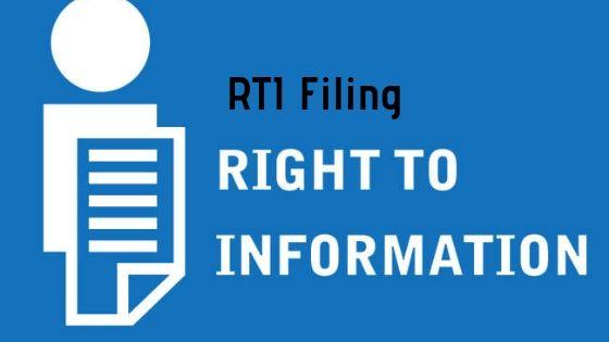 RTI Filing