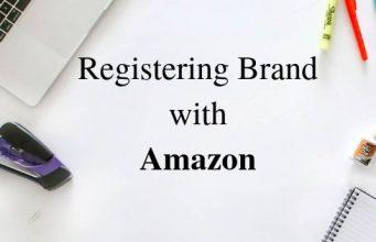 Registering Brand with Amazon