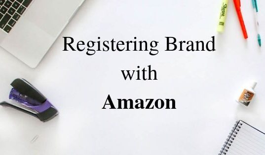 Registering Brand with Amazon