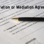 Arbitration or Mediation Agreement