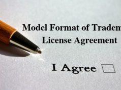 Model Format of Trademark License Agreement