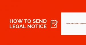 How To Send Legal Notice