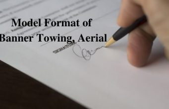 Model Format of Banner Towing, Aerial