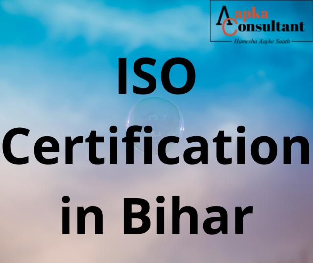 ISO Certification in Bihar