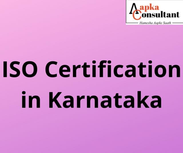 ISO Certification in Karnataka