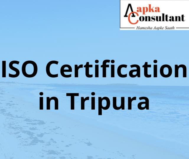 ISO Certification in Tripura