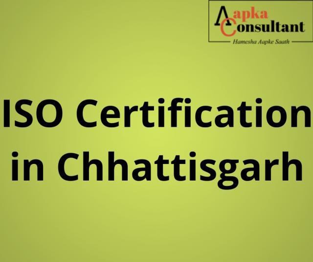 ISO Certification in Chhattisgarh