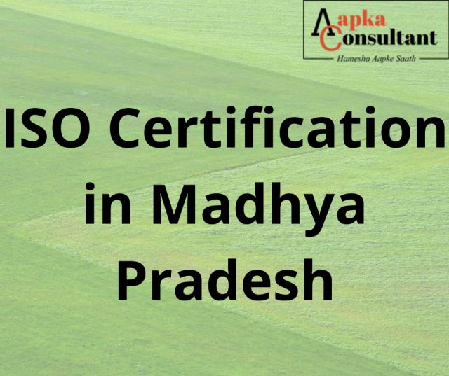 ISO Certification in Madhya Pradesh