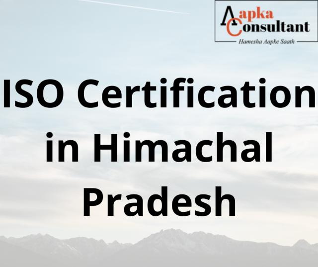 ISO Certification in Himachal Pradesh