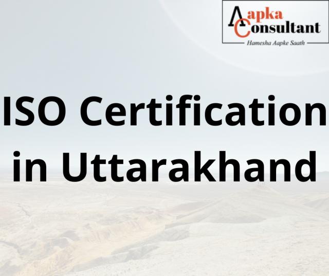 ISO Certification in Uttarakhand
