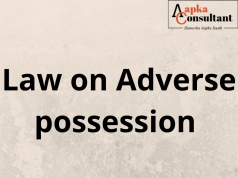 Law on Adverse possession
