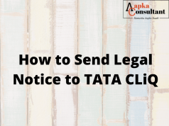 How To Send Legal Notice to TATA CLiQ