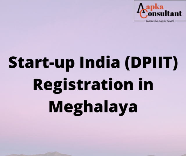 Start-up India (DPIIT) Registration in Meghalaya
