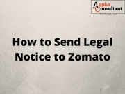 How To Send Legal Notice to Zomato