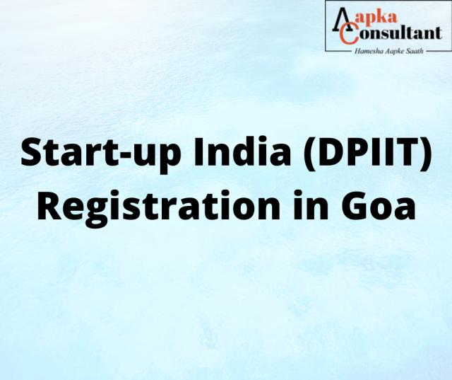 Start-up India (DPIIT) Registration in Goa