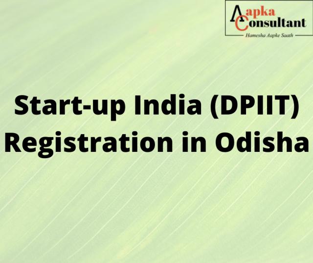 Start-up India (DPIIT) Registration in Odisha