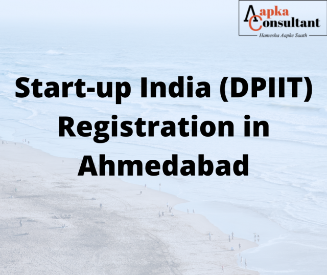 Start-up India (DPIIT) Registration in Ahmedabad