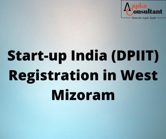 Start-up India (DPIIT) Registration in Mizoram