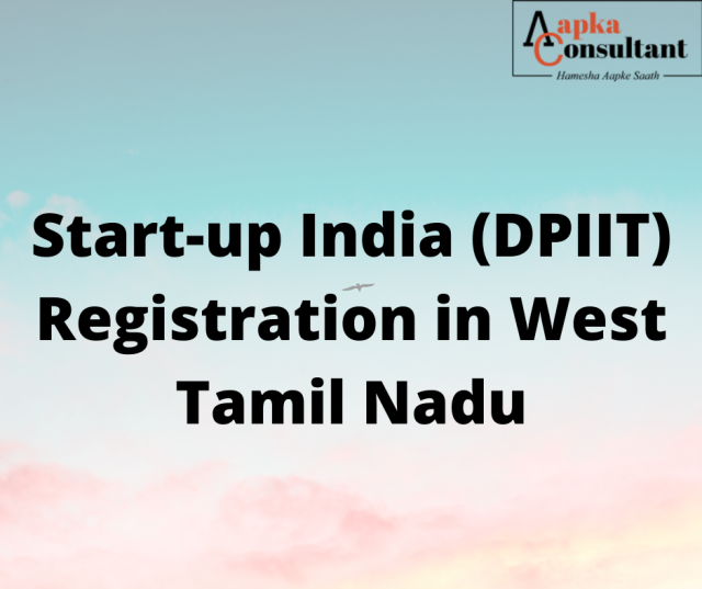 Start-up India (DPIIT) Registration in Tamil Nadu