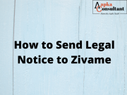 How To Send Legal Notice to Zivame