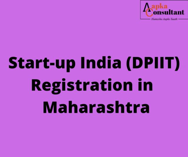 Start-up India (DPIIT) Registration in Maharashtra