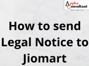 How to send Legal Notice to Jiomart