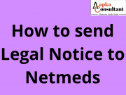 How to send Legal Notice to Netmeds